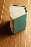 Old green book Royalty Free Stock Photo