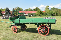 Old green carriage Royalty Free Stock Image