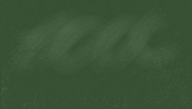 Old Green chalkboard vector texture. Background Royalty Free Stock Photo