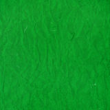 Old green crumpled rice paper texture Royalty Free Stock Images