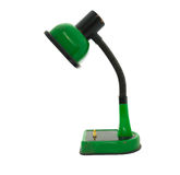 Old green desk lamp Royalty Free Stock Photography