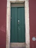 old green door of a historic Stock Photography