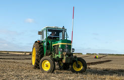 A old green john deere 2030 tractor royalty free stock images