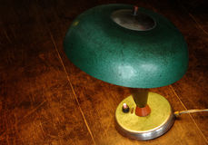 Old green lamp Stock Photos