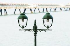 Old green light to illuminate Royalty Free Stock Image