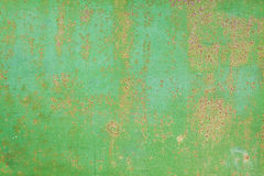 Old green metal background horizontal Stock Photos
