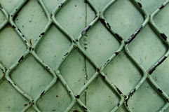 Old Green Metal Background Stock Photos