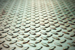 Old green metal surface close up Royalty Free Stock Image