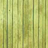 The old green paint wood texture with natural patterns Stock Images
