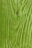 Old green painted wood plank Royalty Free Stock Photo