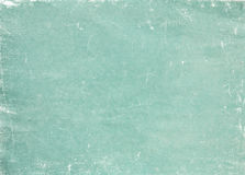 Old green paper background or texture. Royalty Free Stock Image