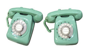 Old Green Phone Royalty Free Stock Image
