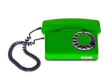 Old Green Phone Stock Photos
