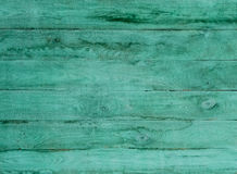 Old green planked wood Royalty Free Stock Image