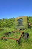 Old green ton truck Stock Image
