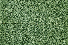 Old green towel surface. Royalty Free Stock Photo