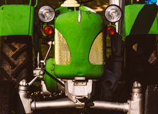 Old green tractor Royalty Free Stock Photo