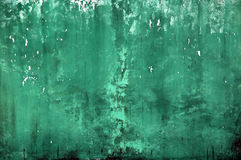 Old green wall Royalty Free Stock Images