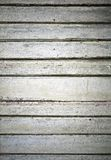Old green wall made of wooden lining boards Stock Photos