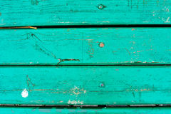 Old green wood background Royalty Free Stock Images