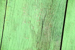 Old green wood background texture Stock Photo