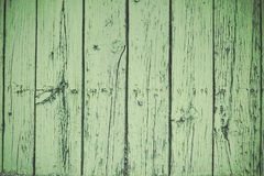 Old green wood boards Royalty Free Stock Photography