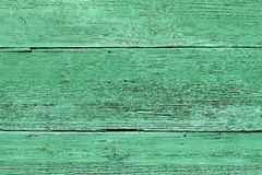 Old green wood texture. Closeup of very old green wood texture Stock Photos