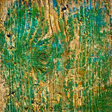 Old green wood texture background Royalty Free Stock Images