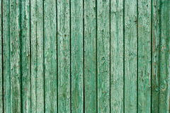 Old green wood texture. background old panels Royalty Free Stock Photos