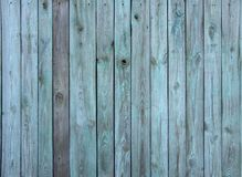 The old green wood texture with natural patterns.  Royalty Free Stock Photography