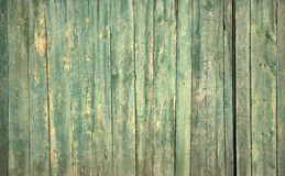 The old green wood texture with natural patterns.  Stock Images