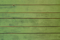 The old green wood texture with natural patterns Stock Photo