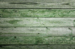 Old green wooden background Stock Image