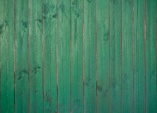Old green wooden plank background Royalty Free Stock Photo