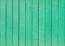 Old green wooden plank background Royalty Free Stock Photos