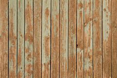 Old green wooden wall. As background or texture royalty free stock image