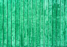 Old green wooden wall Royalty Free Stock Images