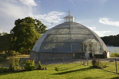 Old Greenhouse Dome Stock Photos