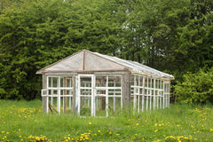 Old greenhouse Royalty Free Stock Image