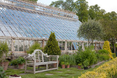 Old Greenhouse in Farmleigh, Phoenix Park Stock Photography