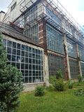 An Old Greenhouse stock photography