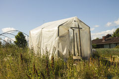 The old greenhouse Stock Photography