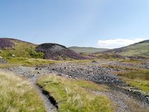 The old Greenside mining area, Lake District Royalty Free Stock Photo