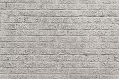 Old grey brick wall background Royalty Free Stock Photo
