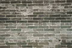 Old grey brick wall Royalty Free Stock Photography