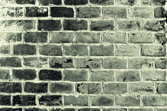 Old grey brick wall Stock Image