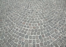 Old grey cobble stone Stock Image