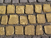 Old grey stone pavement background Stock Photography