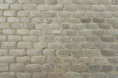 Old grey stone pavement background texture Royalty Free Stock Photography