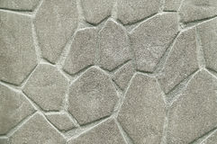 Old grey stone wall background texture Royalty Free Stock Photography